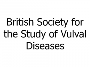 British Society for the Study of Vulval Diseases
