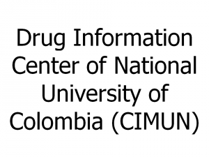 Drug Information Center of National University of Colombia (CIMUN)