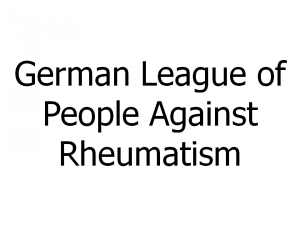 German League of People Against Rheumatism