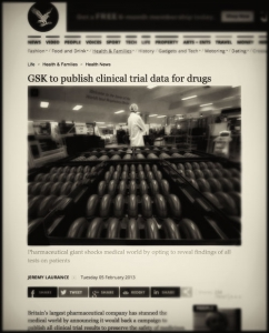 GSK to publish clinical trial data for drugs